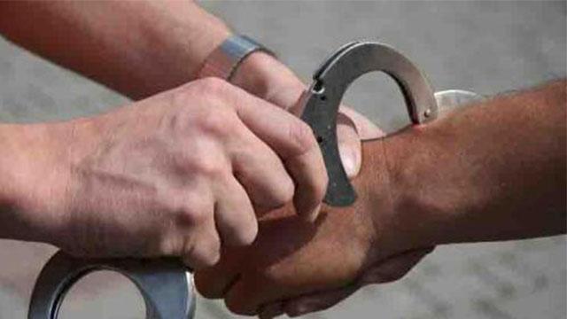 Erwischt und festgenommen