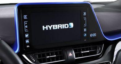Hybird Tacho bei Toyota