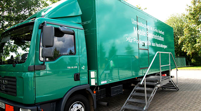 Umweltmobil in Rödinghausen unterwegs