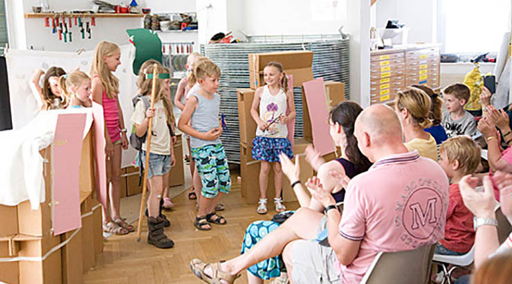 Sommerferienprogramm im Marta Herford