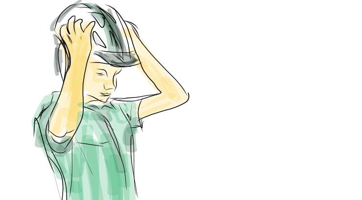 Mit Helm wäre wahrscheinlich weniger passiert