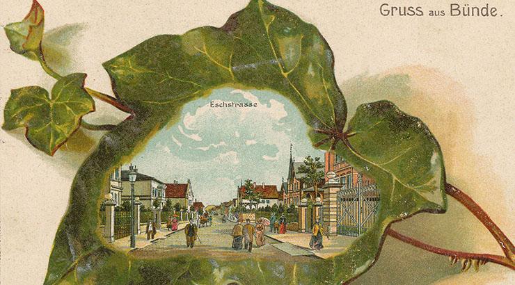 Stadtrundgang mit Ansichtskarten
