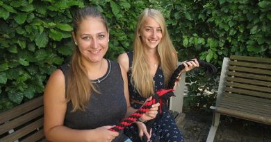Basteln mit Kindern Hundespielzeug: Nina Lückingsmeier und Janine Holtmann.