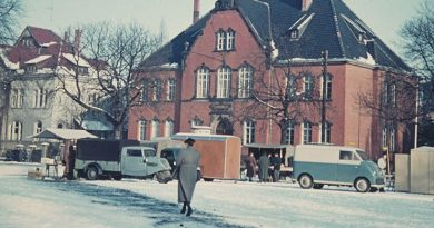 Rundgang um den Marktplatz in Bünde