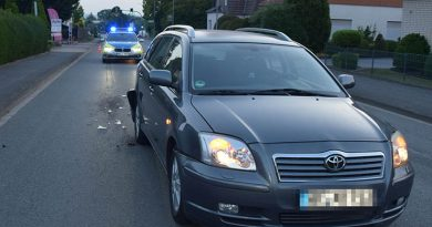 Flüchtiger ohne Führerschein wurde gefasst