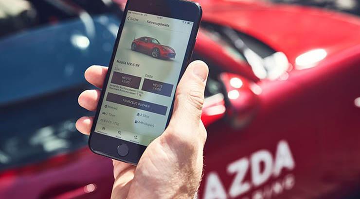 Mazda startet bundesweit flächendeckendes Carsharing
