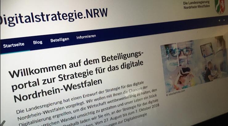 Thema Digitalstrategie