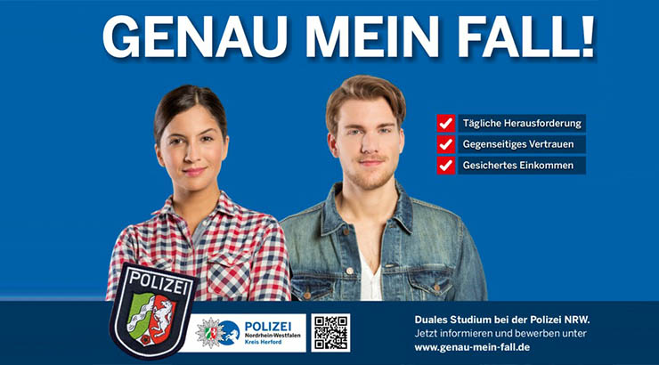 Polizei - genau mein Fall
