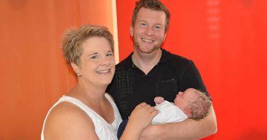 Tausendste Geburt im Klinikum Herford