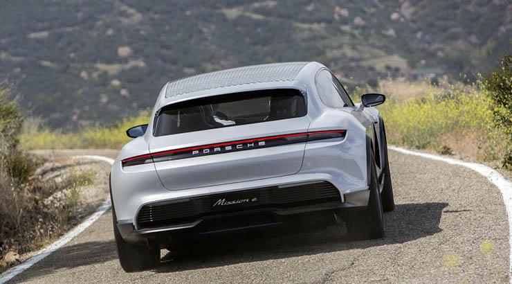 Porsche in elektrisch