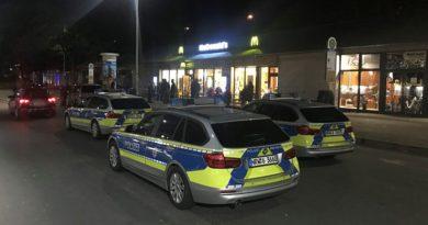 Sondereinsatz der Herforder Polizei