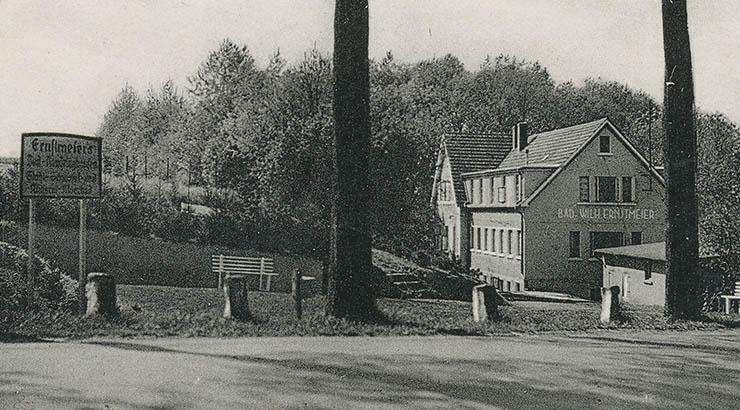 Auch durch Randringhausen – hier eine alte Ansicht des Kurhauses Ernstmeier – wird die Rundfahrt am kommenden Sonntag führen.
