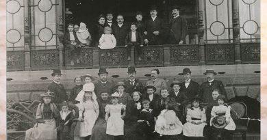 Mit großem Gemeinschaftssinn hielt Ottilie Steinmeister (mittig in der ersten Reihe) auch nach dem Tod ihres Mannes die Familie zusammen.