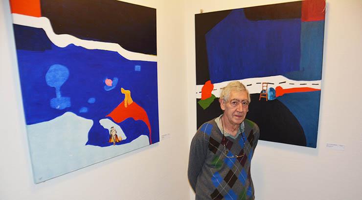 Der Künstler Ginés de Castillo-Elejabeytia