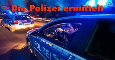 bewaffneter Überfall in KirchlengernSichere Innenstadt Herford- Diebstahltiger PKW