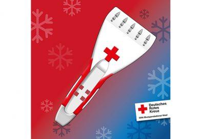 Eiskratzer für Blutspende