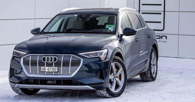 Audi e-tron in Davos