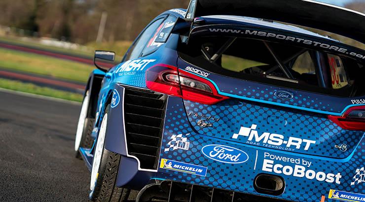 """M-Sport Ford stellt Design des 2019er Fiesta WRC vor - Rund 380 PS starker Turbo-Allradler kehrt zu der für Ford charakteristischen Grundfarbe Blau zurück - 2019 umfasst die Rallye-Weltmeisterschaft 14 Läufe von Finnland bis nach Australien; Saisonauftakt am 22. Januar bei der Rallye Monte Carlo - Zwei-Werksautos für Elfyn Evans/Scott Martin und Teemu Suninen/Marko Salminen sowie ein dritter Fiesta WRC für Pontus Tidemand bei der """"Monte"""" und in Schweden"""