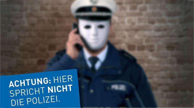 Falscher Kriminalbeamter
