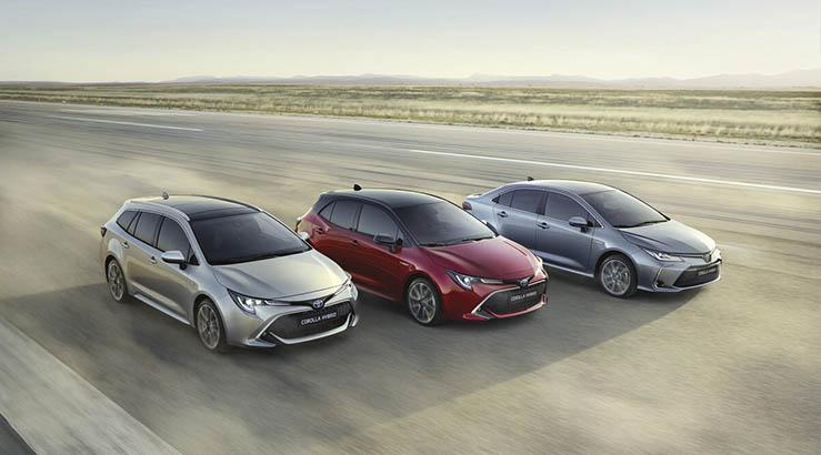 Die neue Toyota corolla Baureihe