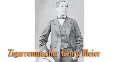 Zigarrenmacher Georg Meier
