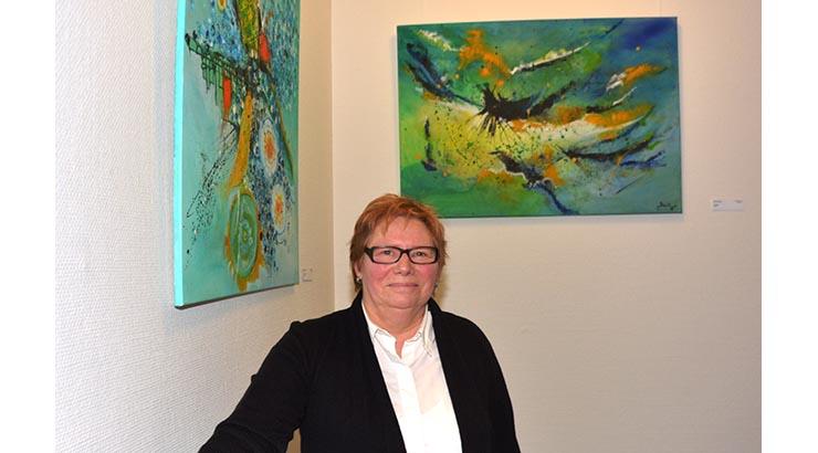 Neue Treppenhausausstellung im Kreishaus