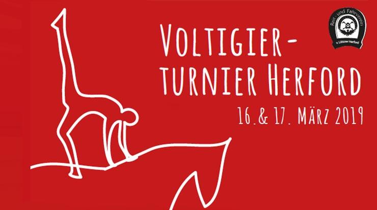 am 16. und 17. März mit dem ersten Hallen-Voltigierturnier in diesem Jahr richtig los. Rund 400 Sportler und über 50 Pferde erwartet die Herforder Voltigierabteilung auf der Anlage an der Planckstraße.