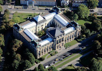 Luftbild des Landesmuseums Hannover