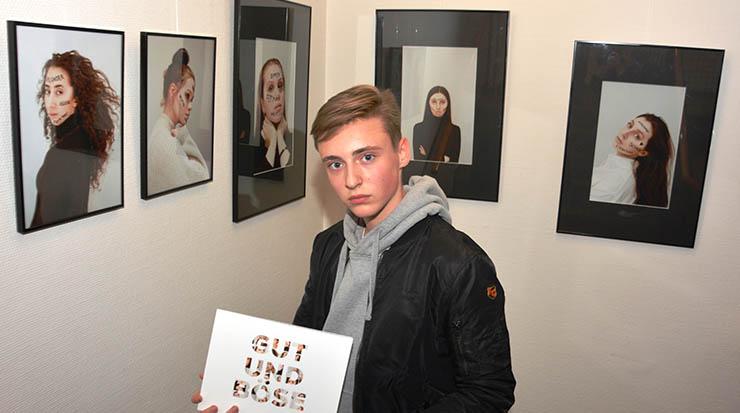 """Künstler Luis Dietrich präsentiert seine Fotoausstellung """"Gut und Böse"""""""