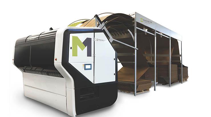 Maßgeschneiderte Verpackungen für jedes Produkt: Packsize zeigt M1™-System auf der Ligna