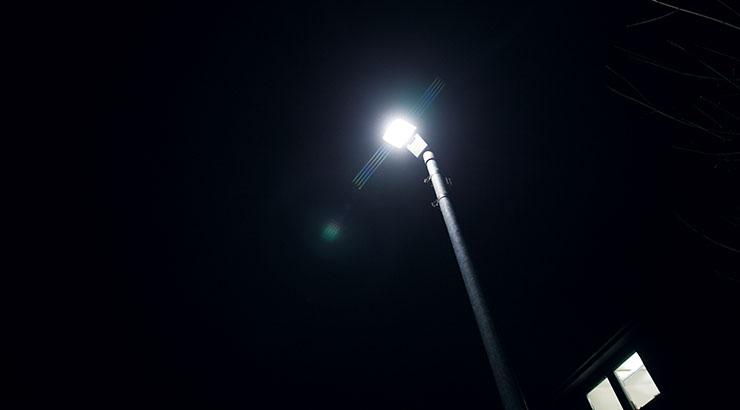 Einsparung von 230.000 Kilowattstunden durch Sanierung der Straßenbeleuchtung
