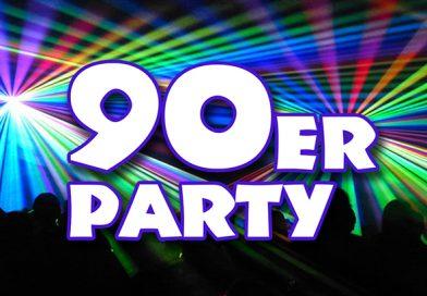 "Boygroups, Girlie-Power, Eurodance - ""Back into the 90er!"" lautet das Motto am Samstag, 16. November ab 21:30 Uhr im Universum Bünde."