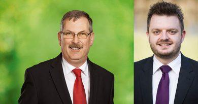 Gemeinsamer Einsatz für den Kreis Herford Ebmeyer und Schönbeck unterstützen Senkung des geplanten Hebesatzes
