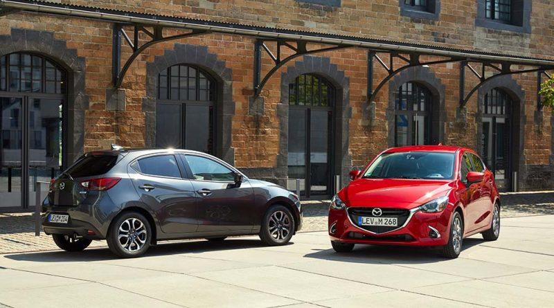 Mazda 2 -Mazda M Hybrid im Kleinwagensegment verfügbar