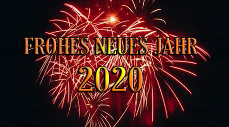 FROHES NEUS JAHR 2020