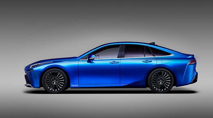 Toyota Mirai - Konzeptfahrzeug zur Brennstoffzellenlimousine in zweiter Generation