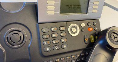 Sinkende Nachfrage beim Bürgertelefon