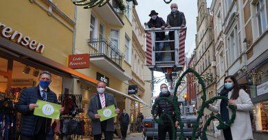 """Weihnachtsbeleuchtung ohne Kosten für die Händler"""""""