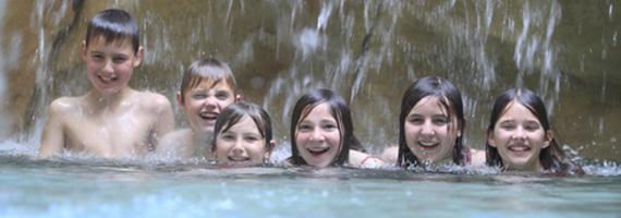 Wellnes für Kinder im H2O