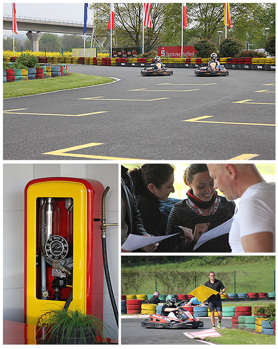 Kart Outdoor-Rennbahn in Kirchlengern